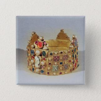 The Crown of Hildesheim Pinback Button
