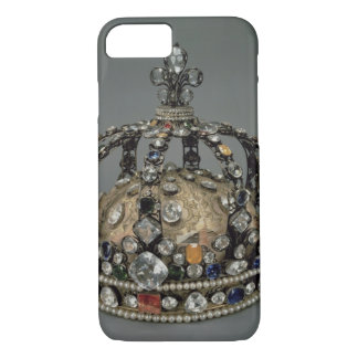 The Crown of Louis XV, 1722 (gilded silver, replac iPhone 8/7 Case