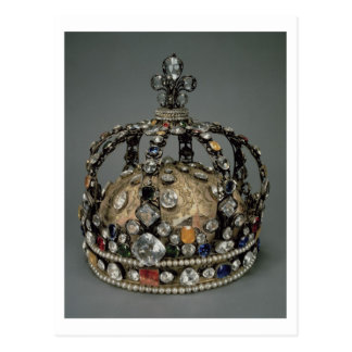 The Crown of Louis XV, 1722 (gilded silver, replac Post Cards