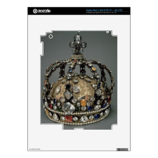 The Crown of Louis XV, 1722 (gilded silver, replac Skins For iPad 3