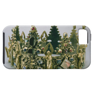 The crown of St. Louis, 13th century (silver-gilt iPhone SE/5/5s Case