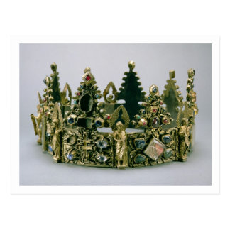 The crown of St. Louis, 13th century (silver-gilt Post Cards