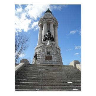 The Crown Point Lighthouse Lake Champlain New York Postcard