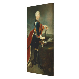 The Crown Prince Frederick II, c.1736 Gallery Wrap Canvas