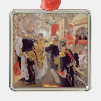 The Crowning of Emperor Nicholas II Metal Ornament