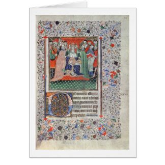 The Crowning of Henry VI (1421-71) at Westminster, Card