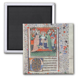 The Crowning of Henry VI (1421-71) at Westminster, Fridge Magnet