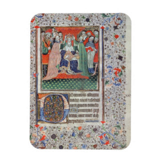 The Crowning of Henry VI (1421-71) at Westminster, Vinyl Magnet