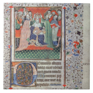 The Crowning of Henry VI (1421-71) at Westminster, Large Square Tile