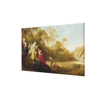 The Crowning of Mirtillo Canvas Print