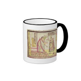 The Crowning of Montezuma II Ringer Coffee Mug