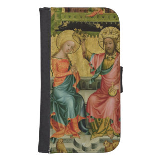 The Crowning of the Virgin, from the right wing Galaxy S4 Wallet