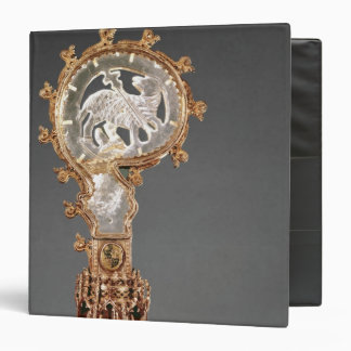 The Crozier of the Abbesses of the Cistercian Vinyl Binder