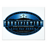 The Crucifiction 4.25x5.5 Paper Invitation Card