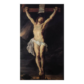 The Crucified Christ Canvas Print