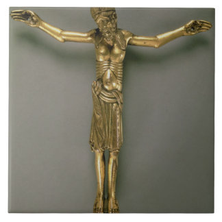 The Crucified Christ, French, second half of 12th Ceramic Tile