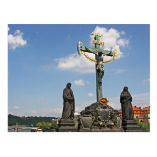 The Crucifix and Calvary Postcard