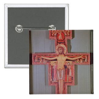 The Crucifix of St. Damian Pinback Button