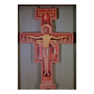 The Crucifix of St Damian Poster