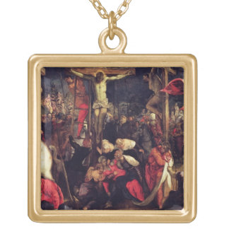 The Crucifixion 2 Gold Plated Necklace
