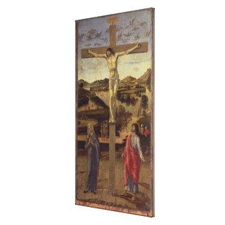 The Crucifixion, c.1455 Canvas Print