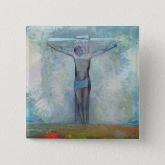 The Crucifixion, c.1910 Button