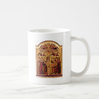 The Crucifixion Of Christ By Westfälischer Meister Coffee Mug