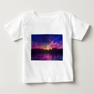 The Crucifixion of Jesus Christ Baby T-Shirt