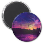 The Crucifixion of Jesus Christ 2 Inch Round Magnet
