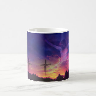 The Crucifixion of Jesus Christ Classic White Coffee Mug