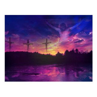 The Crucifixion of Jesus Christ Postcard