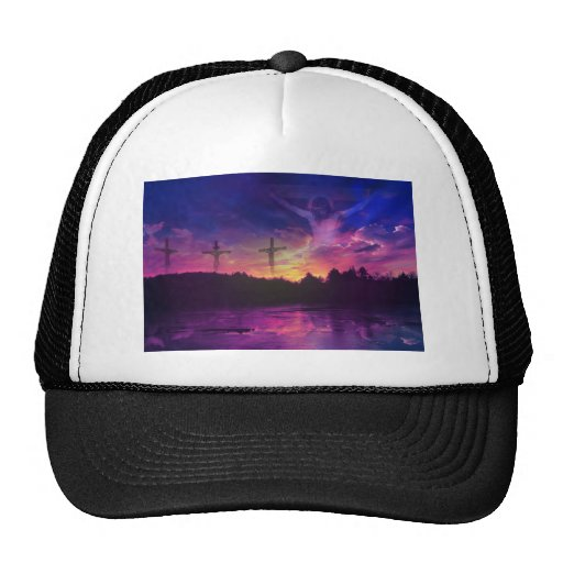The Crucifixion of Jesus Christ Trucker Hat