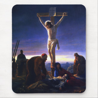 The Crucifixion of Jesus. Fine Art Gift Mousepad