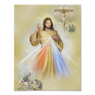 The Crucifixion of Our Lord Jesus Christ Poster