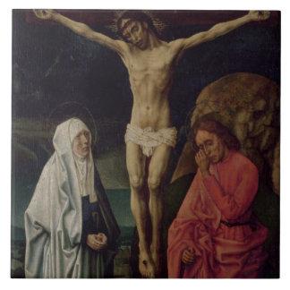 The Crucifixion (panel) 2 Ceramic Tile