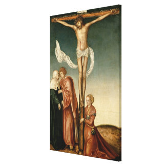 The Crucifixion (panel) Canvas Print