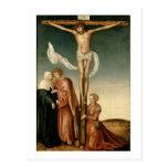 The Crucifixion (panel) Postcard