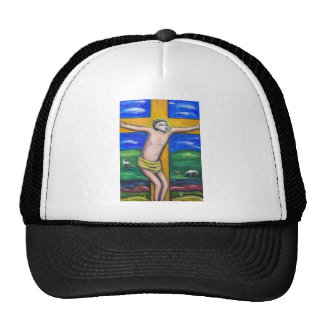 The Crucifixion Pastoral (Christianity theme) Trucker Hat