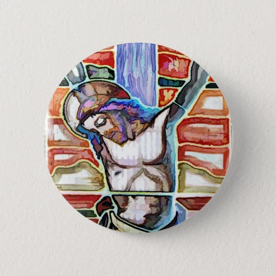THE CRUCIFIXION PINBACK BUTTON