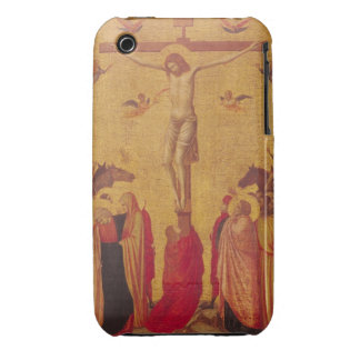 The Crucifixion (tempera on panel) iPhone 3 Cover