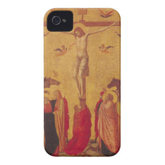 The Crucifixion (tempera on panel) iPhone 4 Case
