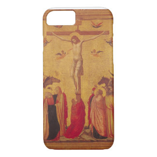 The Crucifixion (tempera on panel) iPhone 7 Case