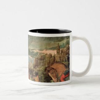 The Crucifixion Two-Tone Coffee Mug