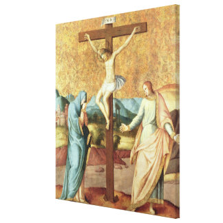 The Crucifixion with the Virgin and St John the Ev Canvas Print