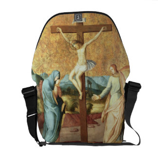 The Crucifixion with the Virgin and St John the Ev Courier Bag