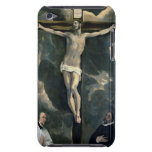 The Crucifixion with Two Donors, c.1580 (oil on ca iPod Case-Mate Case