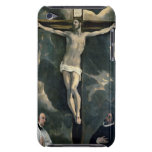 The Crucifixion with Two Donors, c.1580 (oil on ca Barely There iPod Cases