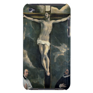 The Crucifixion with Two Donors, c.1580 (oil on ca Case-Mate iPod Touch Case