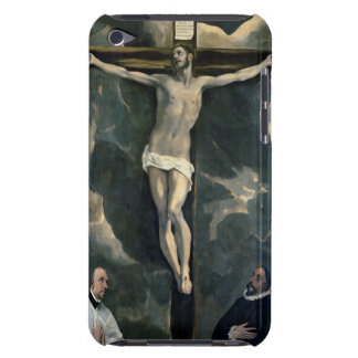 The Crucifixion with Two Donors, c.1580 (oil on ca iPod Touch Cover