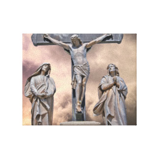 The Crucifixion Wrapped Canvas